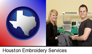 Houston, Texas - embroidery services company employees