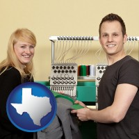 texas embroidery services company employees