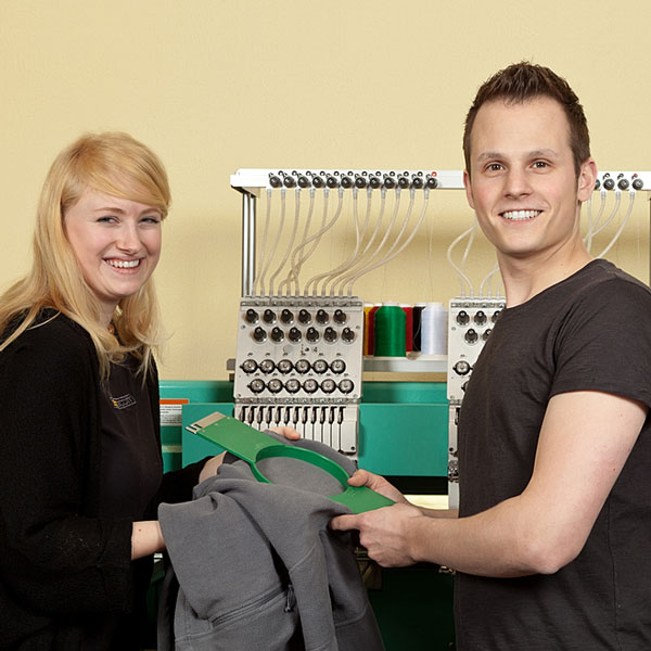 embroidery services company employees